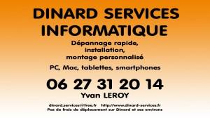 Dinard Service couleur
